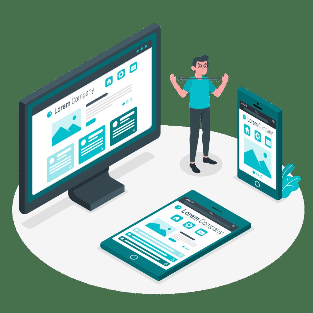 ROAN24 Responsive web design