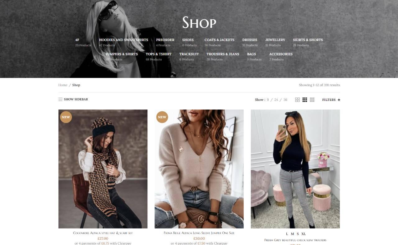 ROAN24 Elixe Fashion Shop