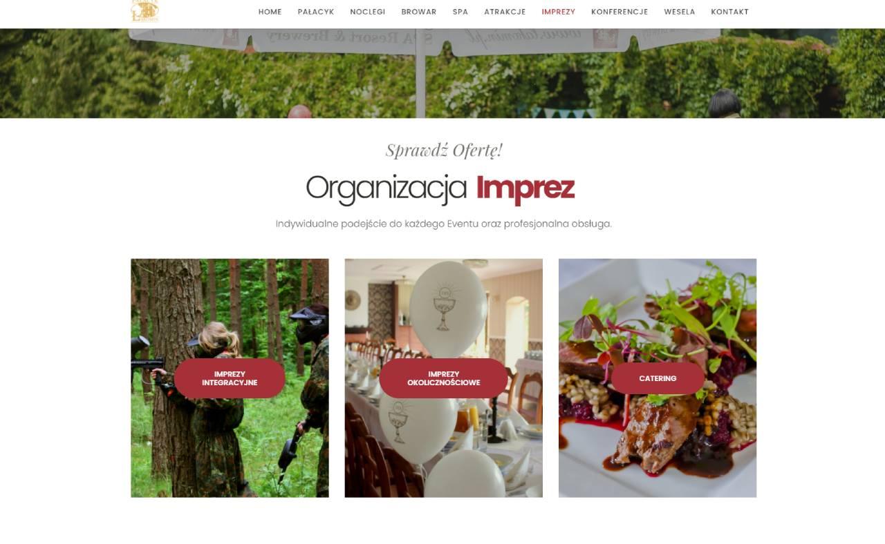 ROAN24 Łąkomin Palace Website Evenementen