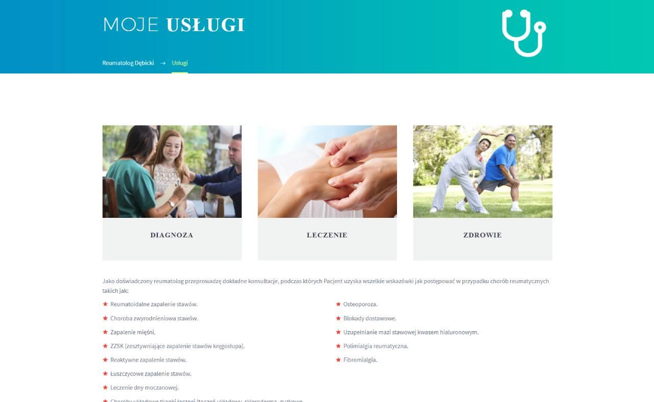 Roan24 Reumatoloog Debicki.pl Mijn diensten