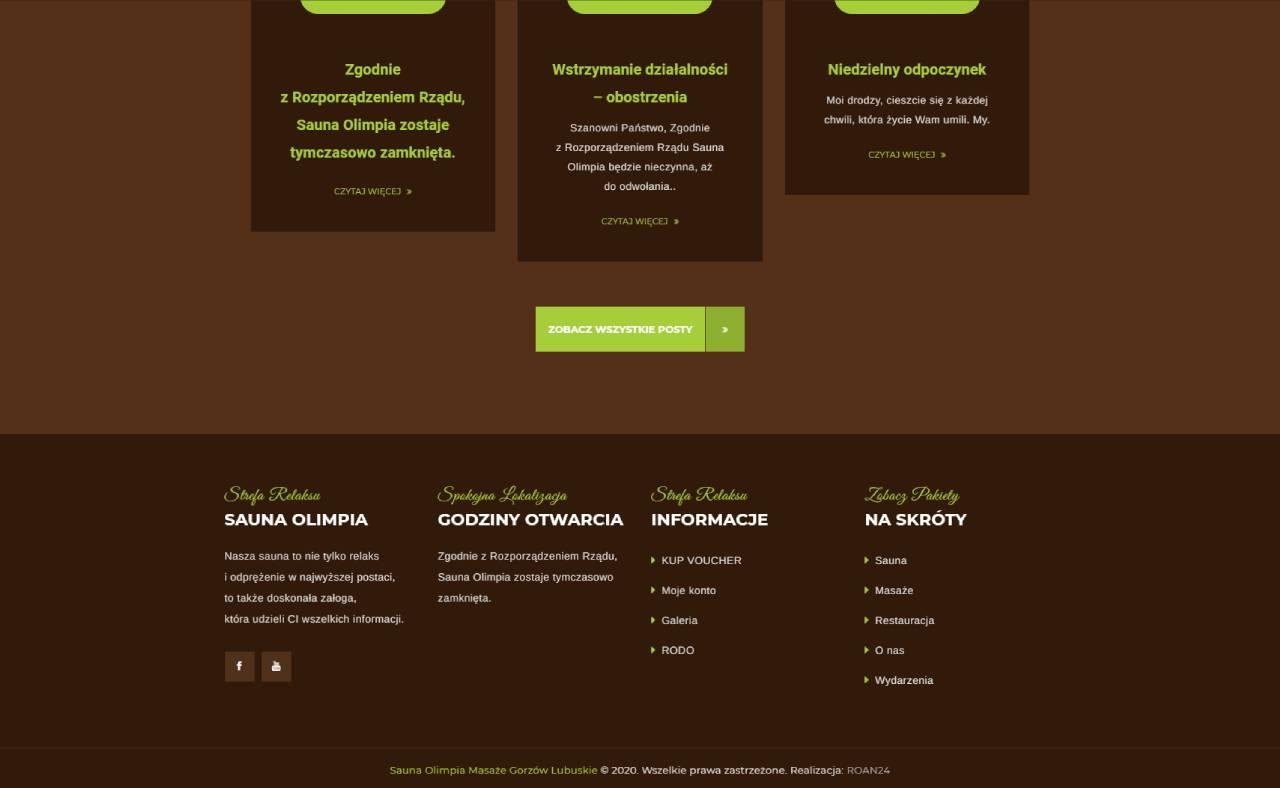 ROAN24 Sauna Olimpia Website HOME Stop