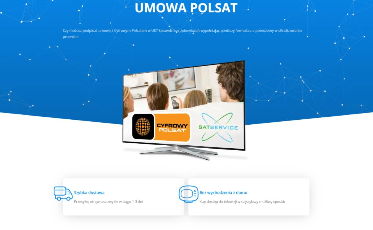 ROAN24 Sat Service Polsat-overeenkomst
